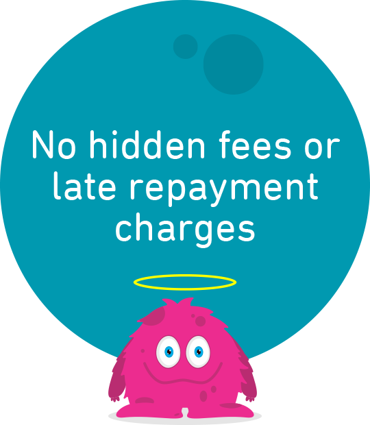 No late repayment charges and no hidden fees